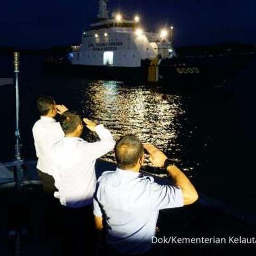 Jajar Kehormatan Kepada Benteng KKP, Tradisi Baru untuk Apresiasi Para Penjaga Laut