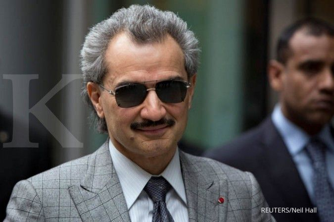 Pangeran Alwaleed Bin Talal ditahan karena korupsi