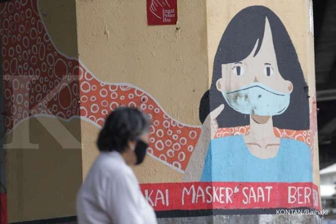 Kasus corona Indonesia bertambah 5.767, tetap pakai masker saat keluar rumah