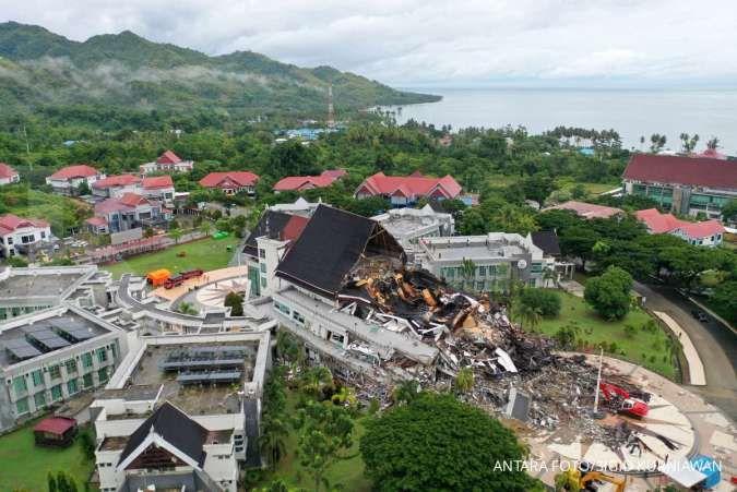 Sampai saat ini sudah ada 84 orang meninggal akibat gempa di Sulawesi Barat