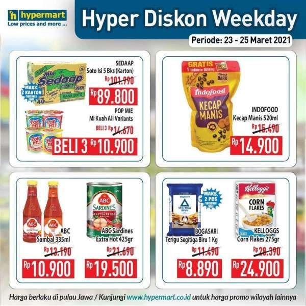 Promo Hypermart weekday 23-25 Maret 2021