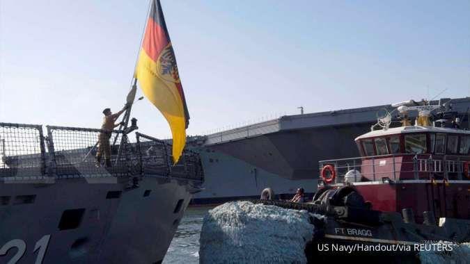 Kapl fregat FGS Hessen milik Angkatan Laut Jerman