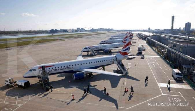 Maskapai penerbangan di Inggris meminta pelonggaran aturan perjalanan