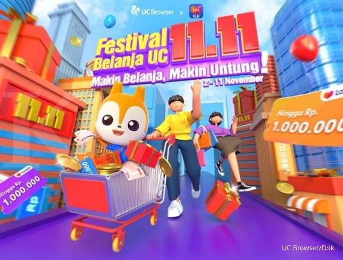 Festival belanja UC 11.11 diikuti 7,5 juta pengguna dan bagikan kupon Rp 350 miliar