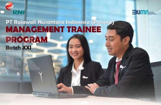 Lowongan kerja BUMN 2020 PT RNI, Management Trainee Program Batch XXI