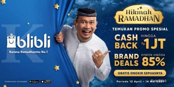 Blibli Hadirkan Pengiriman 2 Jam dan Festival Belanja untuk Penuhi  Kebutuhan Ramadhan 2021