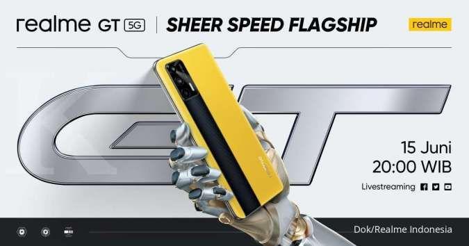 Siap meluncur 15 Juni, mari intip spesifikasi Realme GT 5G si Flagship Killer 2021!