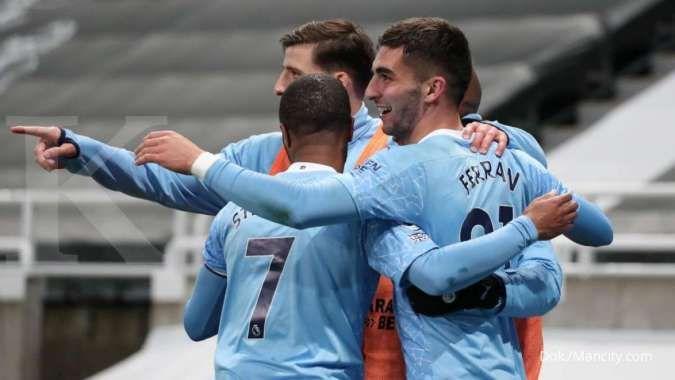 Newcastle vs Man City: Drama 7 gol menangkan The Citizens dari The Magpies