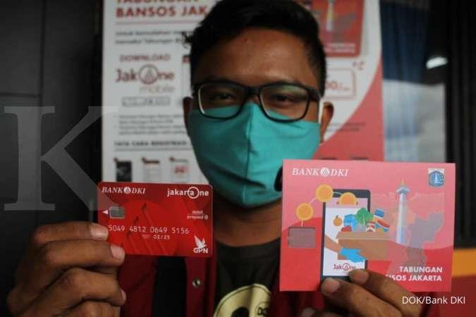 Bank DKI dan Dinsos DKI Jakarta mulai meyalurkan bantuan sosial tunai