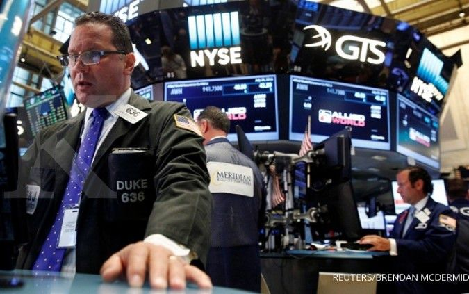 Jelang rilis tenaga kerja, gerak Wall Street flat