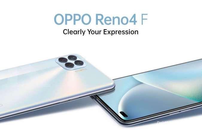 Dibekali RAM besar dan 6 kamera, ini harga HP OPPO Reno4 F terbaru