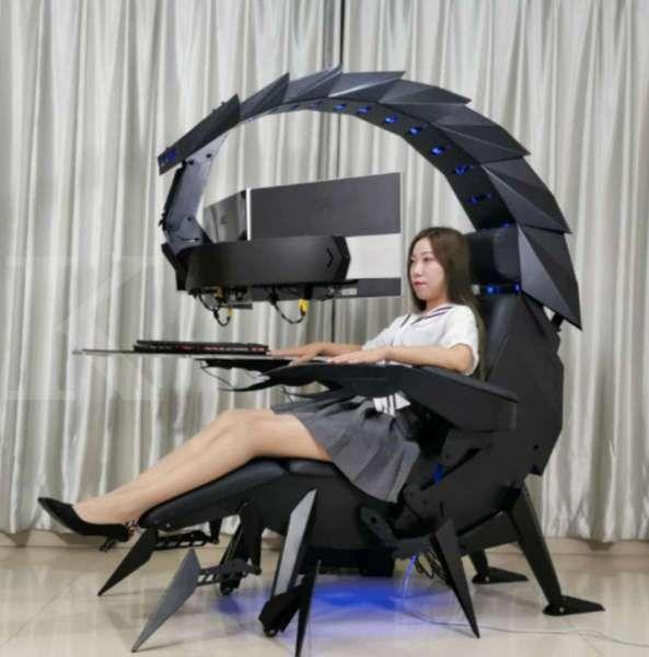 Gokil! Mirip kalajengking raksasa, harga kursi gaming ini setara rakit PC spek tinggi