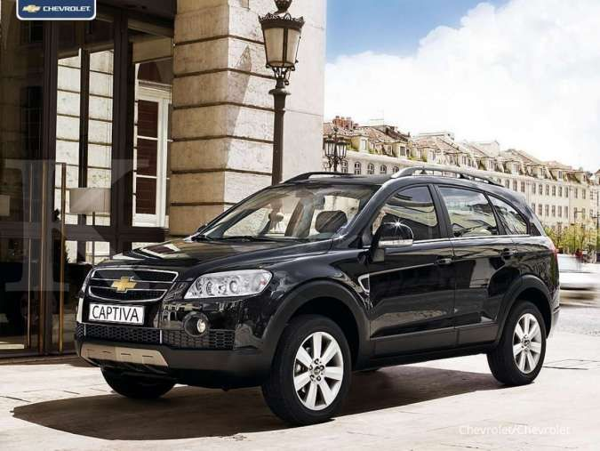 Prices for used cars Chevrolet Captiva