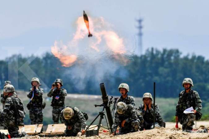 Melibatkan 10.000 tentara, Rusia dan China adakan latihan militer besar-besaran