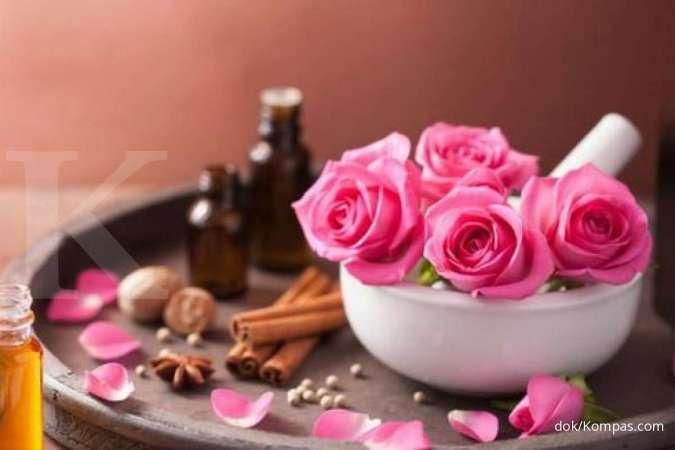 Anda penderita batuk kering? Bunga mawar efektif meredakan batuk kering