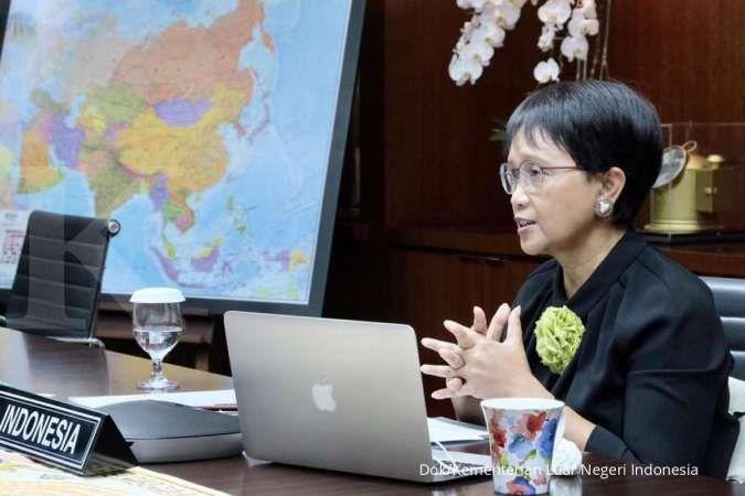 Kasus Covid-19 turun, Menlu berharap negara lain bisa coret Indonesia dari red list