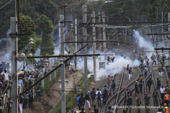 Ada unjuk rasa, MRT Jakarta dan KCI klaim tak mengalami kerugian