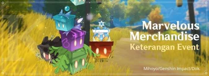 Marvelous Merchandise - Event Genshin Impact