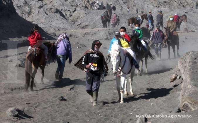Cerita Pak Kecik, yang sudah 22 tahun jadi joki kuda di kaki Gunung Bromo
