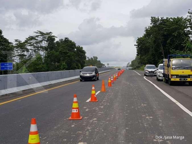 Update efek longsor ke jalan tol Semarang-Solo, Jasa Marga: Satu lajur bisa dilewati