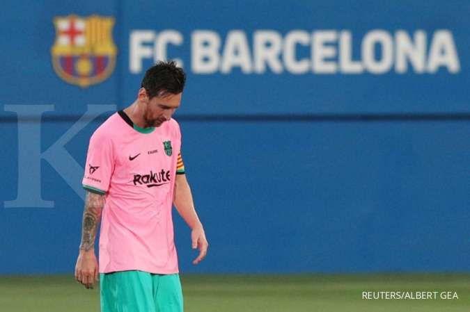 Lionel Messi akan absen di laga Cornella vs Barcelona Copa Del Rey
