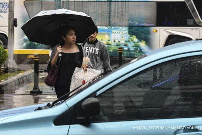 Cuaca hari ini di Jabodetabek sebagian besar hujan, juga Jakarta Selatan dan Timur