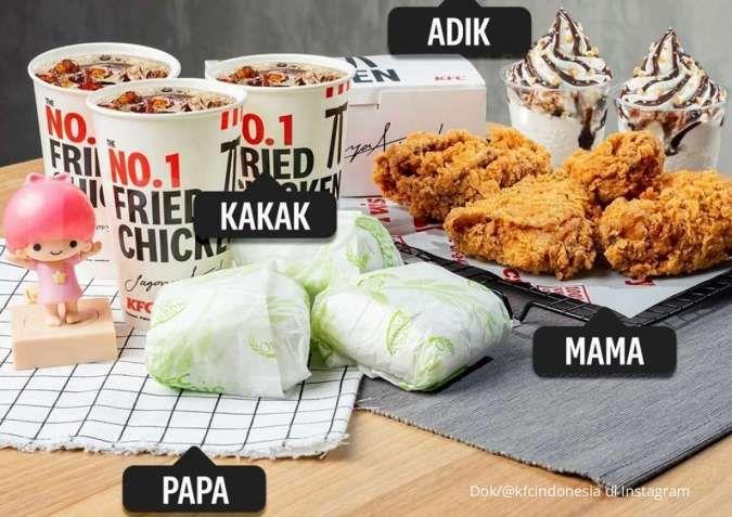 Promo KFC terbaru di September, makan rame bersama keluarga dengan harga terjangkau