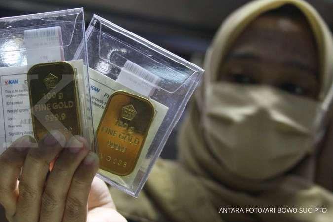 Harga emas 24 karat Antam hari ini naik Rp 2.000 per gram, Rabu 20 Mei 2020