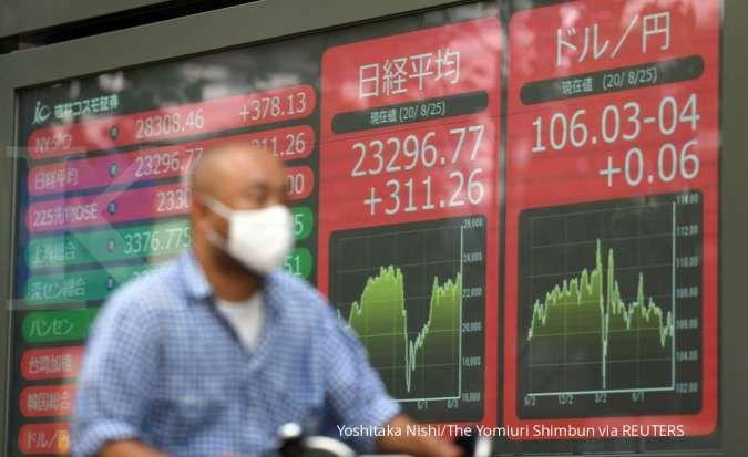 Menanti data inflasi China, mayoritas bursa Asia melemah di pagi ini (9/6)
