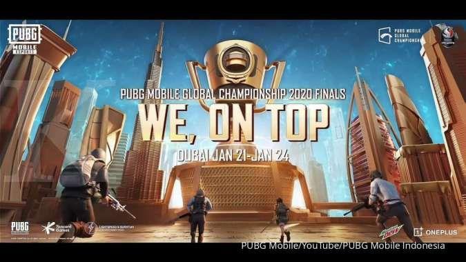 Link dan jadwal final PMGC 2020 hari ke-4, penentuan juara dunia PUBG Mobile