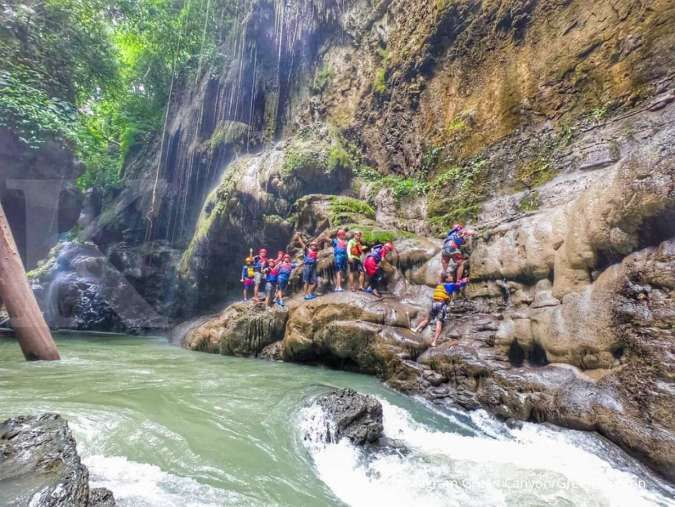 Green Canyon, destinasi wisata favorit di Pangandaran
