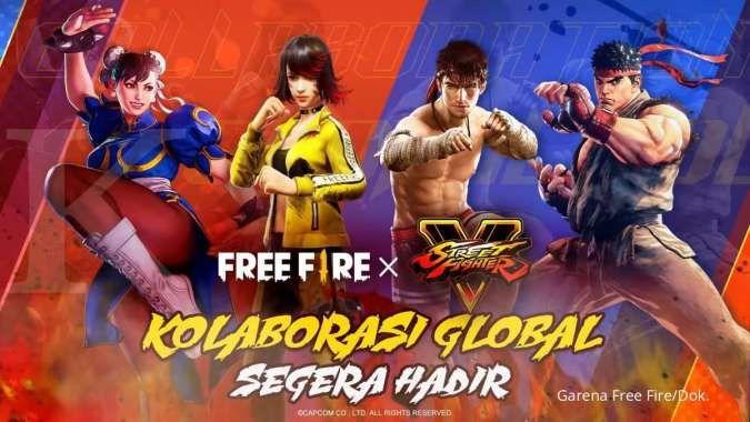 Free Fire X Street Fighter, apa saja yang baru dan kapan tanggal rilisnya?