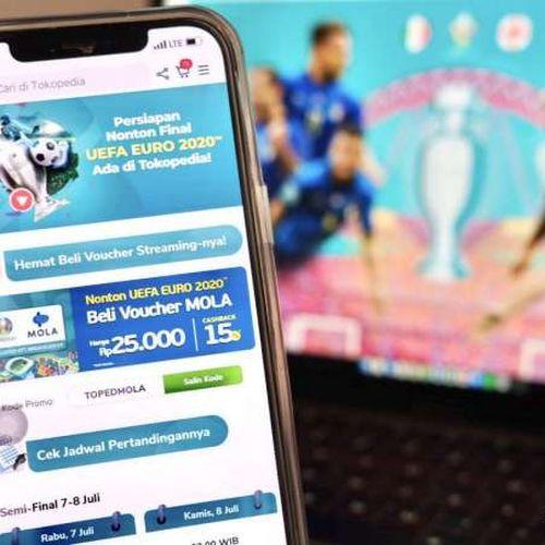 Lima Cara Asyik dan Aman Nobar Final Euro 2020 Ala Tokopedia