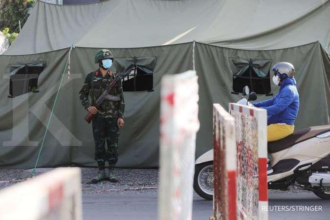 Awasi lockdown Covid-19, Vietnam kerahkan tentara