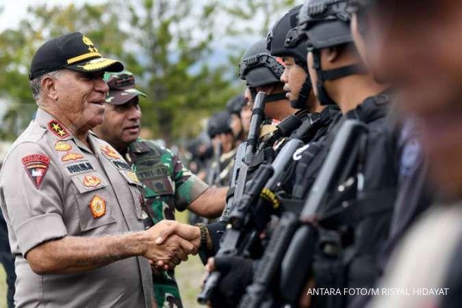 Pernyataan Kapolda Papua setelah dua polisi di Maluku jual senjata ke KKB