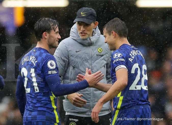 Klasemen Liga Inggris pekan ke-7: Chelsea geser Liverpool, Tottenham mulai bangkit