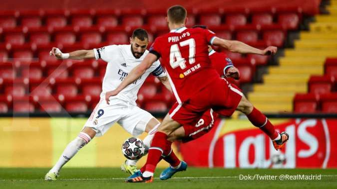 Liverpool vs Real Madrid: Tahan The Reds di Anfield, Los Blancos lolos agregat 3-1