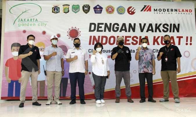 Jakarta Garden City dan Alumni Akpol 91 bagikan paket sembako secara online