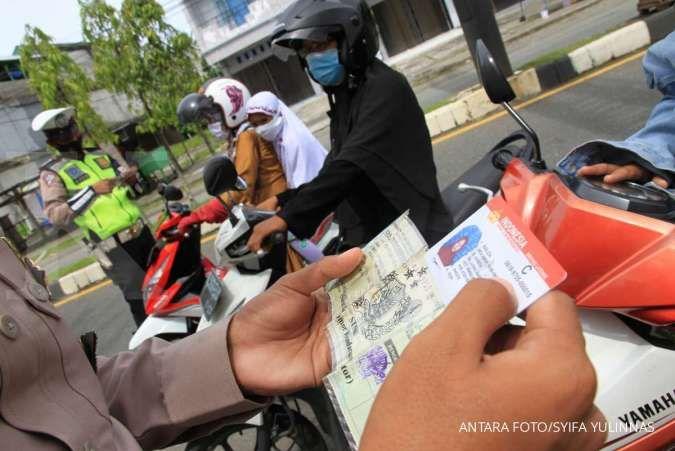 Polda Metro Jaya jaring 3.577 pelanggar pada hari pertama Operasi Zebra