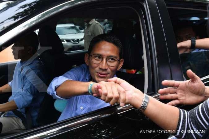 Walau gagal jadi calon wakil presiden, Sandiaga pastikan tak akan jadi wagub DKI lagi