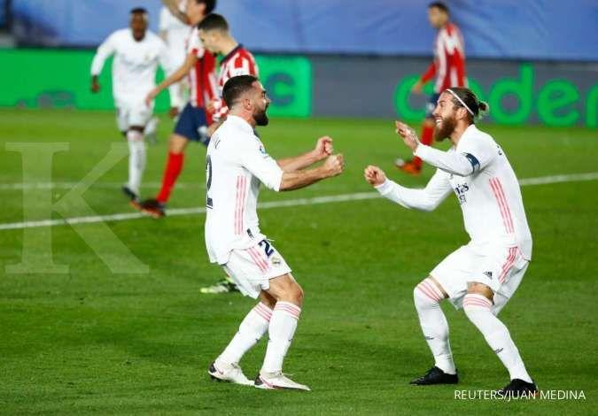PSG jadi nomor satu dalam perburuan Sergio Ramos dari Real Madrid