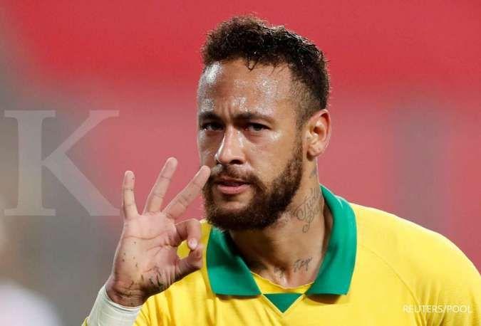Final Copa America 2021: Lionel Messi peringatkan Argentina soal bahaya Neymar