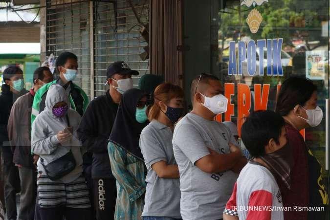 Sebanyak 1.808 orang meninggal akibat corona pada Sabtu (31/7)