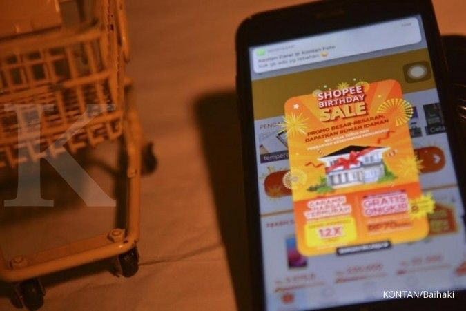 E-commerce yang dikunjungi terbanyak di Indonesia