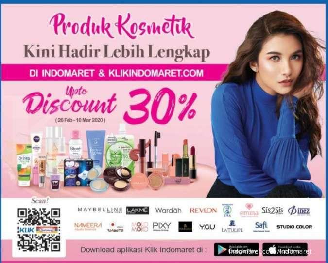 Cari promo produk kosmetik? Cek tawaran Indomaret ini