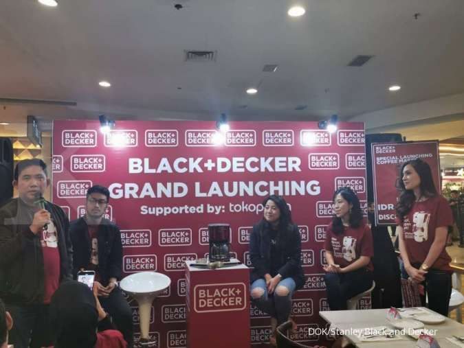 Black+Decker mengambil celah peluang tren minum kopi