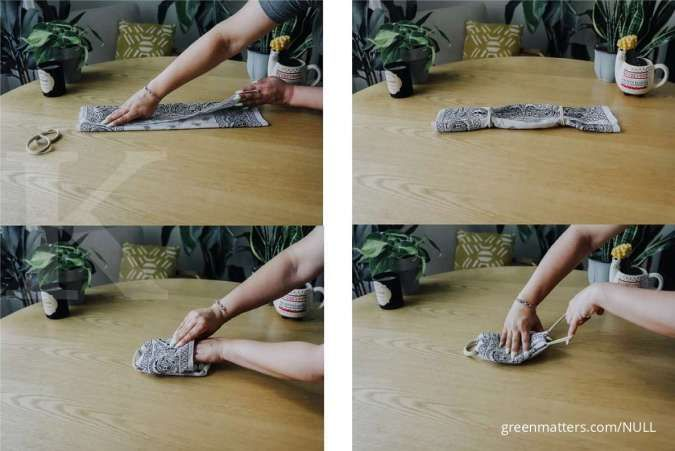 Cara Membuat Masker Kain Tanpa Mesin Jahit Wajib Anda Jajal