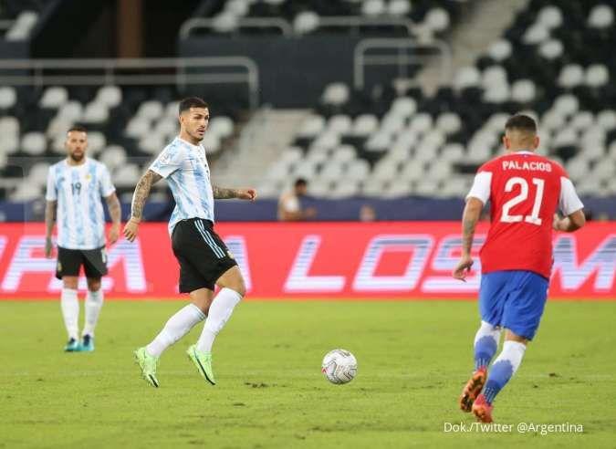 Hasil laga Argentina vs Chile di Copa America 2021