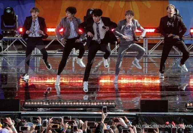 BTS memecahkan rekor baru di Spotify lewat lagu Boy With Luv