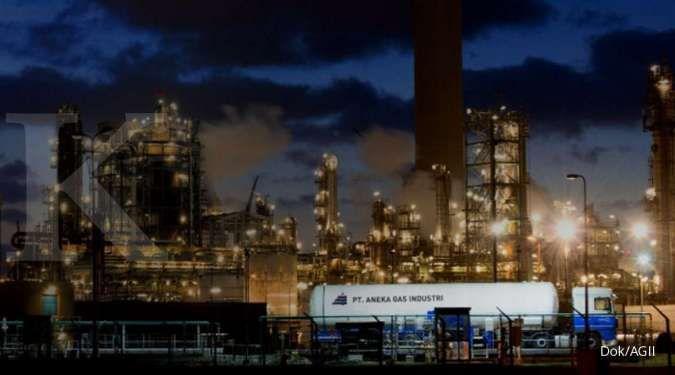 Rekomendasi beli saham Aneka Gas (AGII), waspadai koreksi jangka pendek
